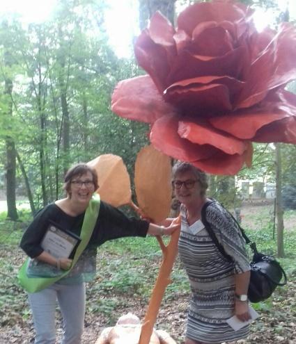 Heleen en taalvrijwilligster Ria
